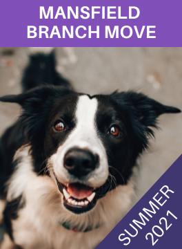 Our Mansfield branch is moving